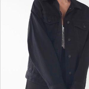 BDG Black Denim Jacket